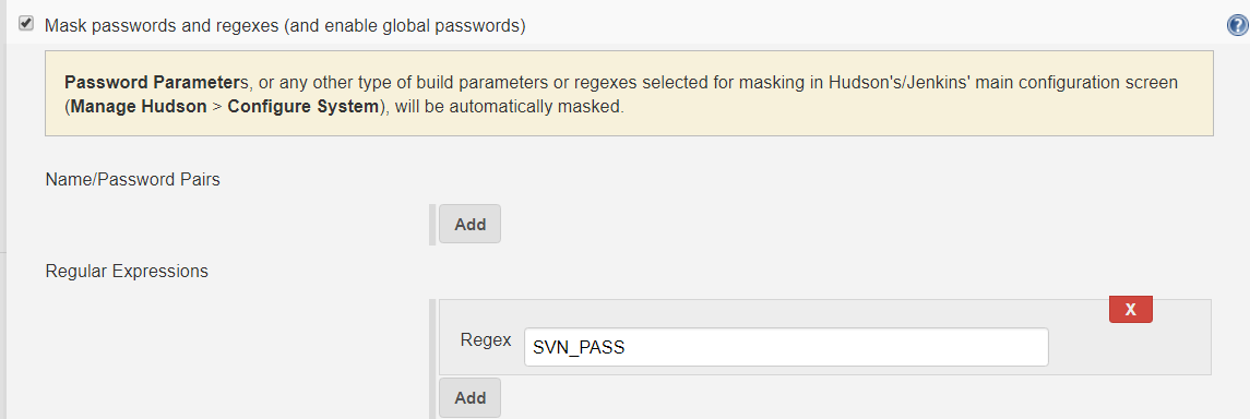Mask Password